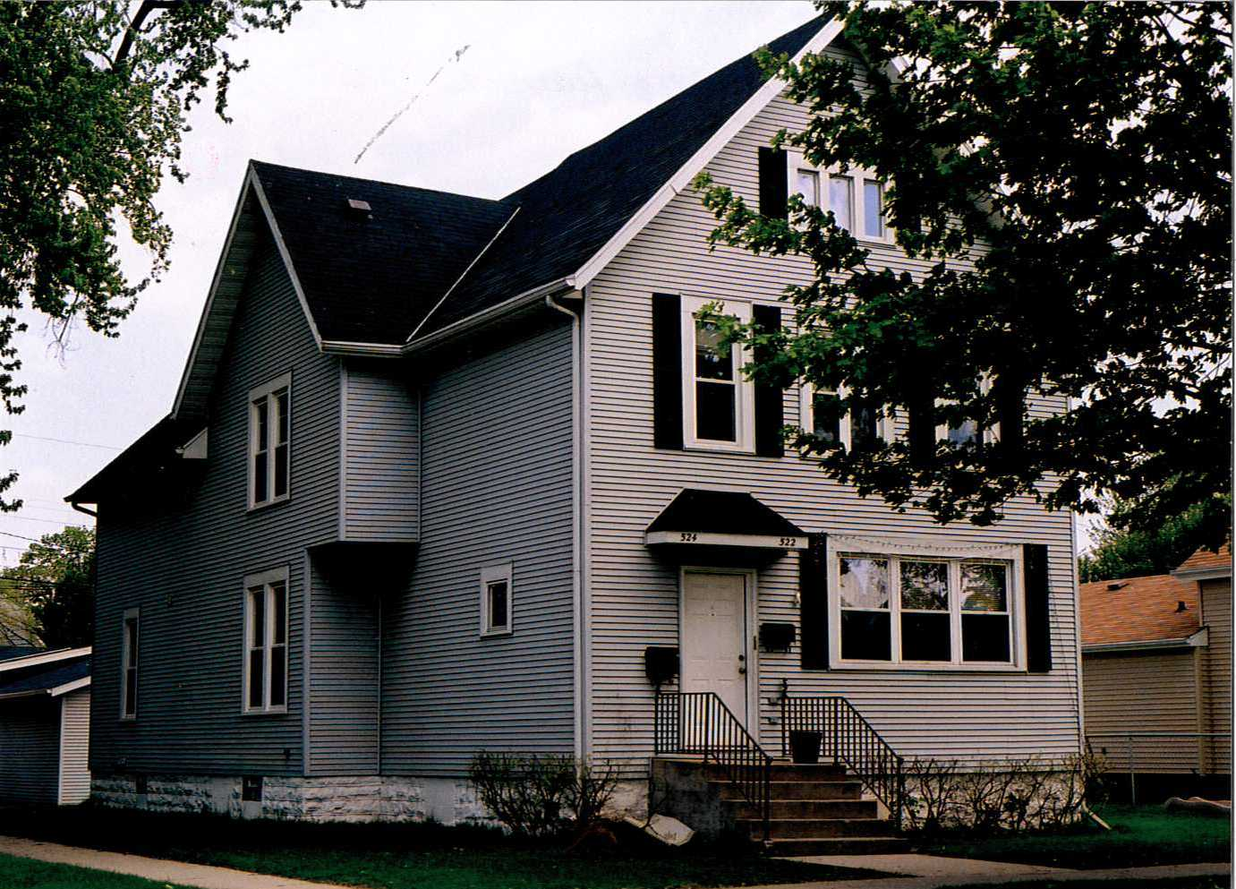 The house located at 524 North Maple Avenue.