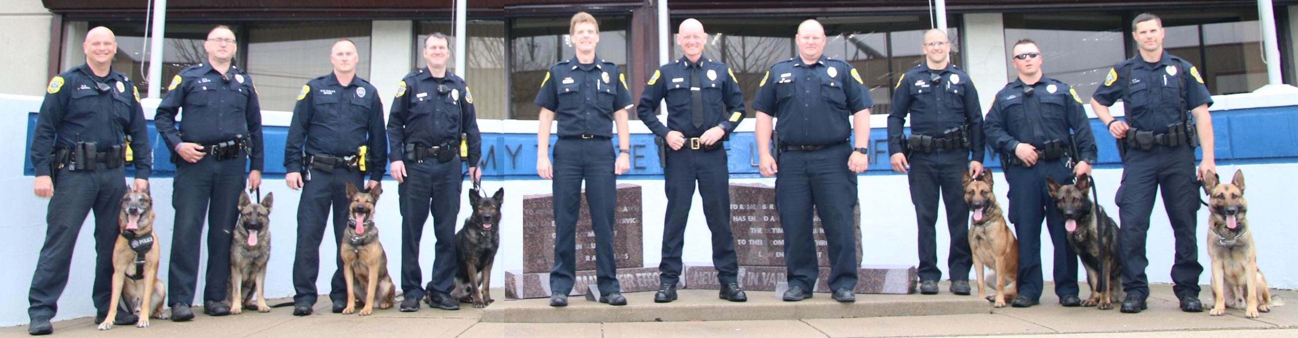 Officers of the Green Bay K-9 Unit